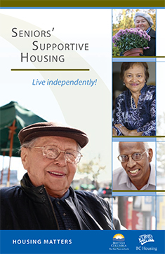 Seniors Supportive Housing Brochure